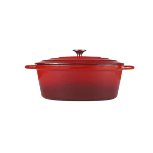 160-051 - red oval casserole 1