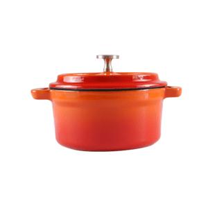 160-090 - orange round ramekin 1
