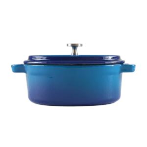 160-103 - blue oval ramekin 1